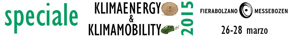 speciale tekneco Klimaenergy – Klimamobility 2015