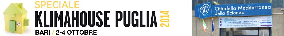 speciale tekneco Klimahouse Puglia 2014