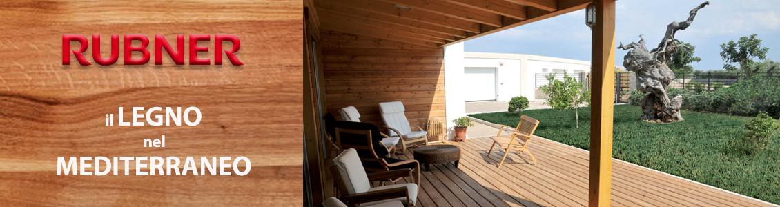 speciale tekneco Rubner- Il legno nel mediterraneo