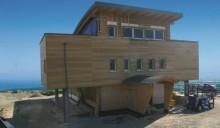 Casa Pagano, dove il legno è protagonista