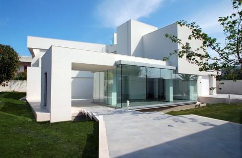 Gli edifici casaclima in puglia for Ville bifamiliari moderne