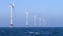 Turbina eolica da 6 MW nel mare del Nord