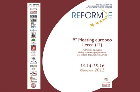 Reforme: a Lecce il 9° meeting europeo
