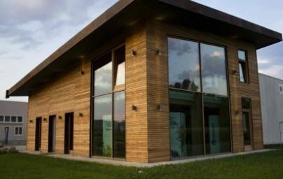 Edificio direzionale in legno