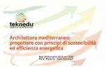 Architettura mediterranea: sostenibilità ed efficienza
