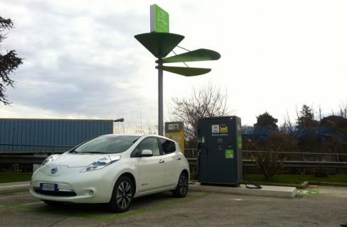 Auto elettrica, anche in Italia punti di ricarica veloce