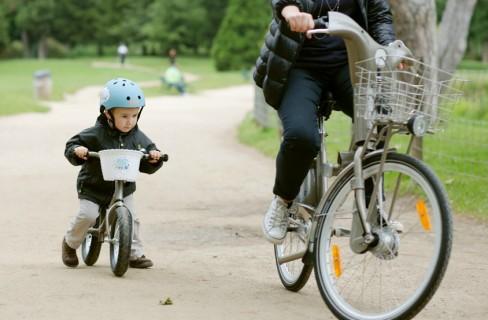 A Milano la bici è anche per i bambini