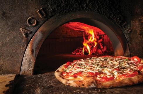 La pizza dalla Terra