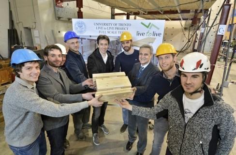 Social Housing, l'Università di Trento sperimenta costruzioni in acciaio e legno