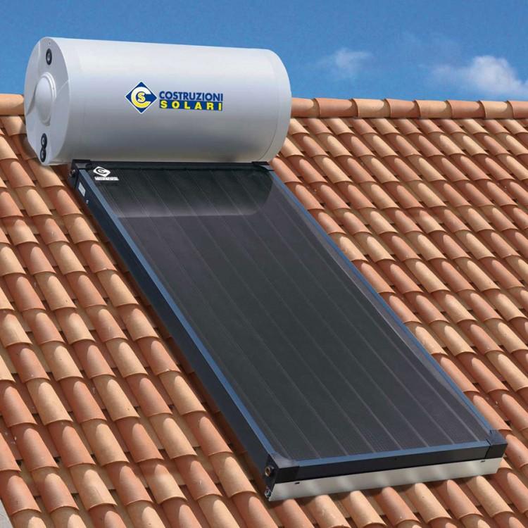 Pannello Solare Tetto Korea : Immagine pannello solare termico kns