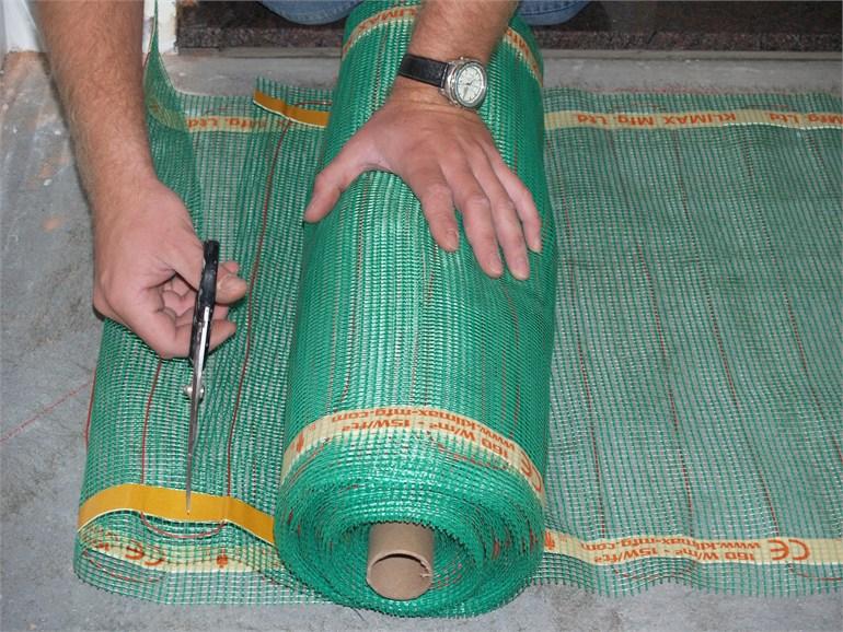 Immagine quickheat floor riscaldamento elettrico a pavimento for Riscaldamento elettrico