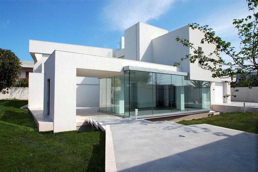 Immagine in primo piano del progetto villa di gioia for Architettura ville moderne