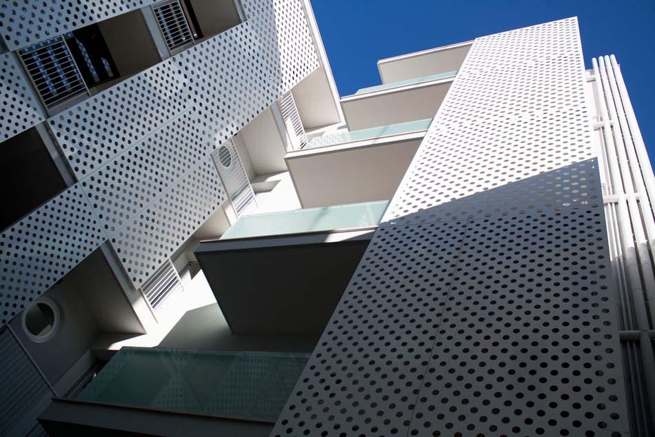 Immagine in primo piano del progetto case a ballatoio for Architetti famosi moderni