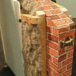Muro con isolante termico