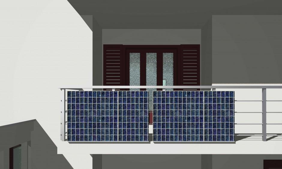 Pannello Solare Termico Balcone : Immagine fototherm il balcone solare